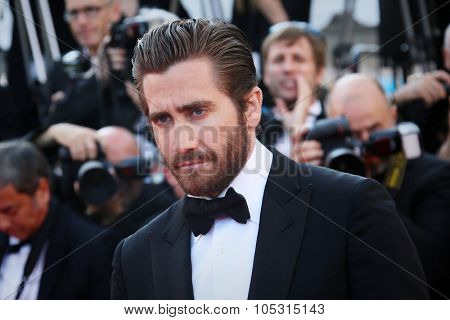 Jake Gyllenhaal attends the 'Carol' Premiere during the 68th annual Cannes Film Festival on May 17, 2015 in Cannes, France
