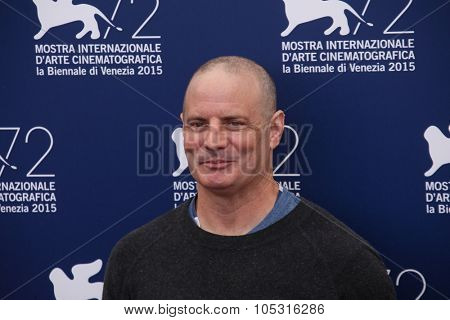 Dito Montiel  attends a photocall for 'Man Down' during the 72nd Venice Film Festival at on September 6, 2015 in Venice, Italy.