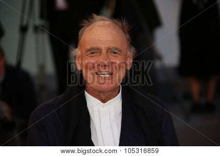 Venice, Italy - 10 September 2015:  Actor Bruno Ganz  attends 'Remember' premiere during the 72nd Venice Film Festival