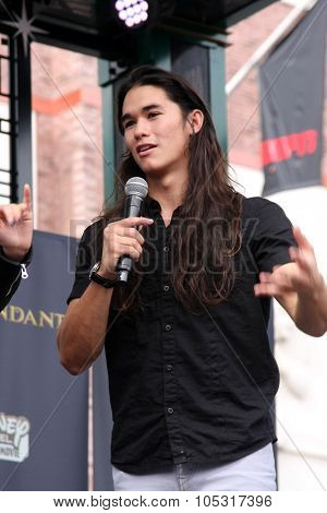 LOS ANGELES - OCT 17:  Booboo Stewart at the Stars of