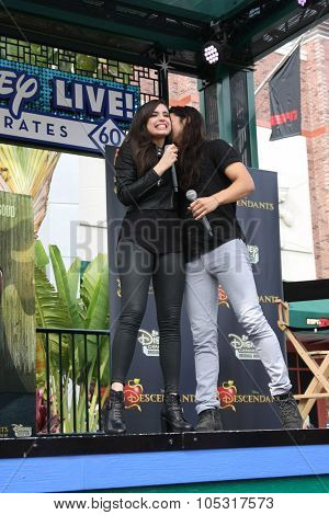 LOS ANGELES - OCT 17:  Sofia Carson, Booboo Stewart at the Stars of