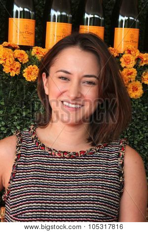 LOS ANGELES - OCT 17:  Zelda Williams at the Sixth-Annual Veuve Clicquot Polo Classic at the Will Rogers State Historic Park on October 17, 2015 in acific Palisades, CA
