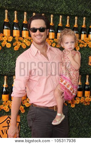 LOS ANGELES - OCT 17:  Oliver Hudson, Rio Hudson at the Sixth-Annual Veuve Clicquot Polo Classic at the Will Rogers State Historic Park on October 17, 2015 in acific Palisades, CA