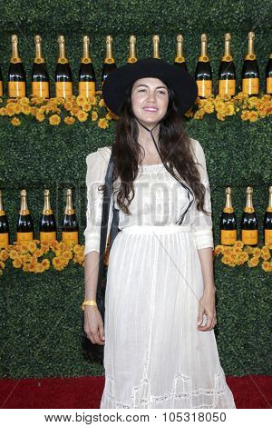 LOS ANGELES - OCT 17:  Shiva Rose at the Sixth-Annual Veuve Clicquot Polo Classic at the Will Rogers State Historic Park on October 17, 2015 in acific Palisades, CA