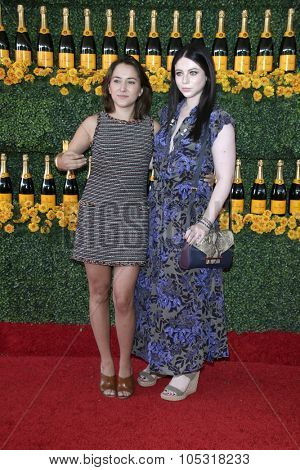 LOS ANGELES - OCT 17:  Zelda Williams, Michelle Trachtenberg at the Sixth-Annual Veuve Clicquot Polo Classic at the Will Rogers State Historic Park on October 17, 2015 in acific Palisades, CA