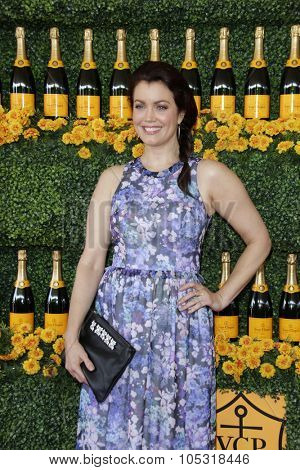 LOS ANGELES - OCT 17:  Bellamy Young at the Sixth-Annual Veuve Clicquot Polo Classic at the Will Rogers State Historic Park on October 17, 2015 in acific Palisades, CA