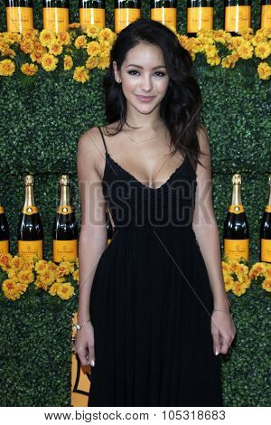 LOS ANGELES - OCT 17:  Melanie Iglesias at the Sixth-Annual Veuve Clicquot Polo Classic at the Will Rogers State Historic Park on October 17, 2015 in acific Palisades, CA