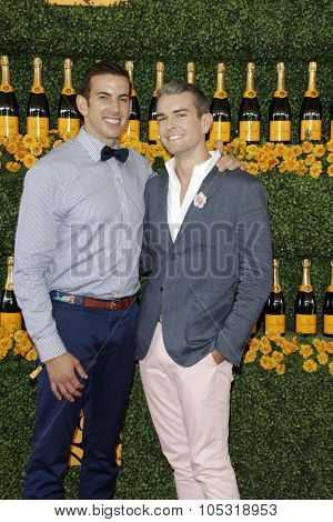 LOS ANGELES - OCT 17:  Jeff Richardson, Gray Malin at the Sixth-Annual Veuve Clicquot Polo Classic at the Will Rogers State Historic Park on October 17, 2015 in acific Palisades, CA