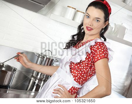Cooking Pretty Woman