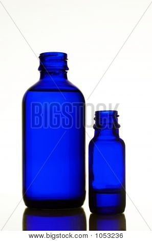 Two Blue Bottles