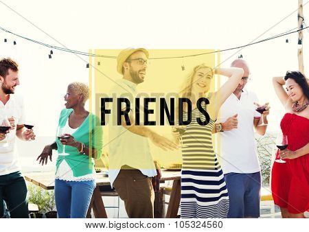 Friends Friendship Companionship Fellowship Togetherness Concept