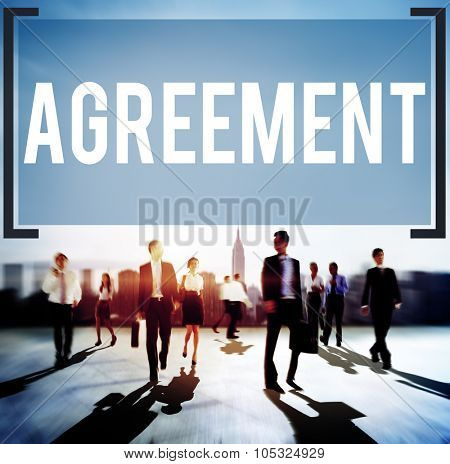 Agreement Collaboration Connection Cooperation Deal Concept
