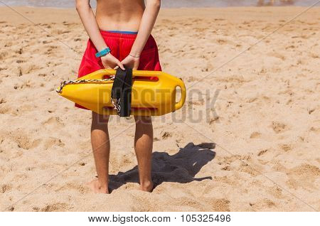 Lifeguard Beach Rescue Bouy