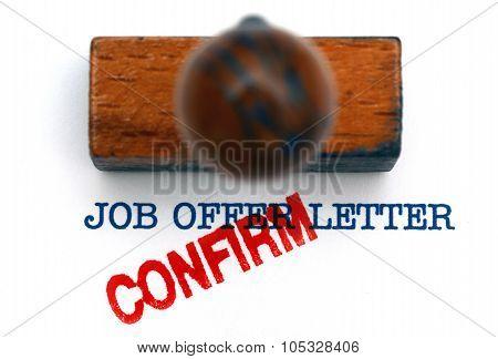 Job Offer Letter Confirm