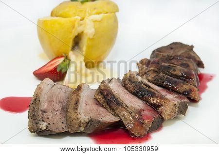 roast goose breast