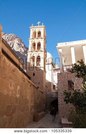 Inside The Monastery Of St. Catherine, Egypt