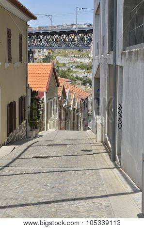 Narrow Street In Gaia