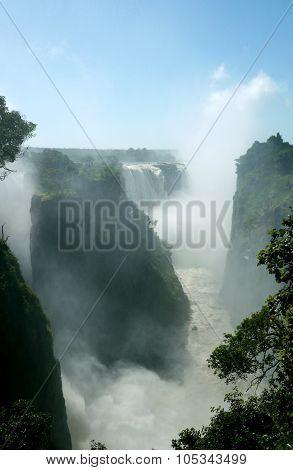 victoria falls and the mighty zambezi river