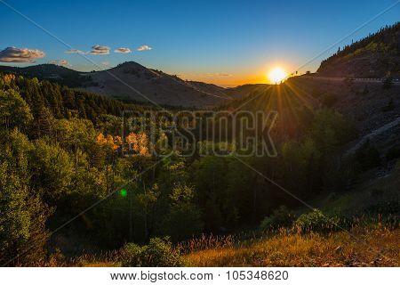 Colorado Autumn Sunrise