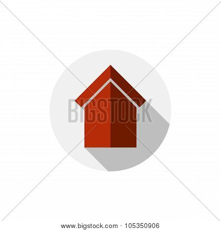 Real Estate Icon, Abstract House Depiction. Property Developer Symbol, Conceptual Vector Sign, Best