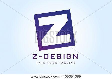 Abstract Z character vector logo icon. Power z vector, z letter logo, web studio, design studio, round shape,z logo icon, company z logo, abstract logo, design element, creative idea. Company logo