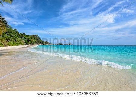 Beach In Summer Of Thailand