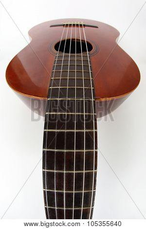 Photo Of Guitar By Using A Fisheye Lens