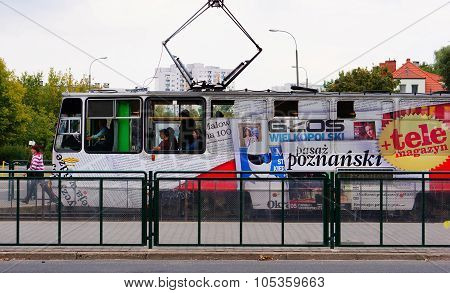 Waiting Public Tram