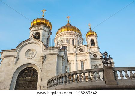 Cathedral in Moscow, Russia