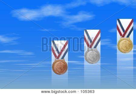Success: Medal In The Sky II