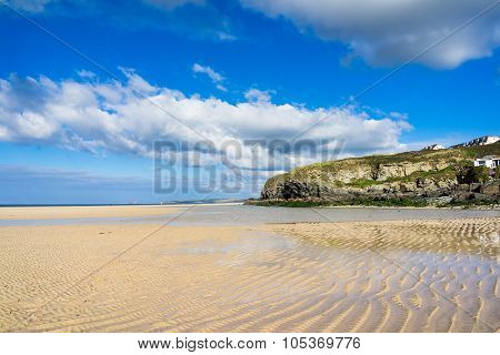 Hayle Towans Beach Cornwall