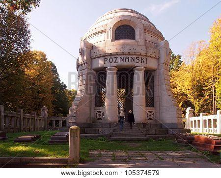 Mausoleum manufacturer.
