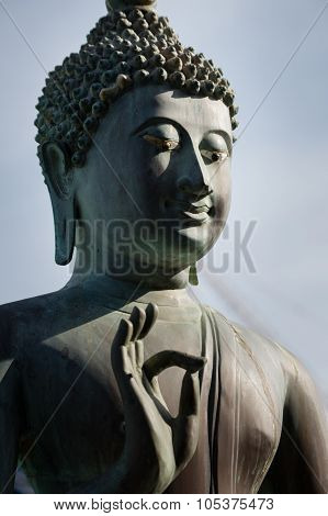 Closeup Of Buddha Statue