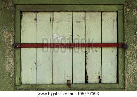 Closed Shop Window