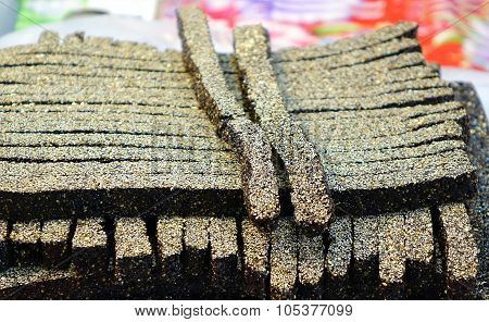 Chinese Black Sesame Candy