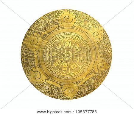 Tibetan Prayer Gong