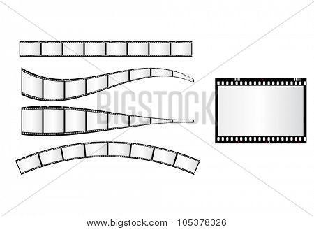 photo frame 35mm easy editable