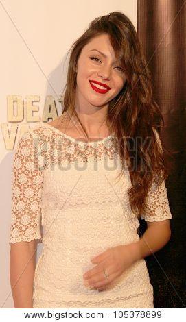 LOS ANGELES- OCT 17: Neraida Bega arrives at the