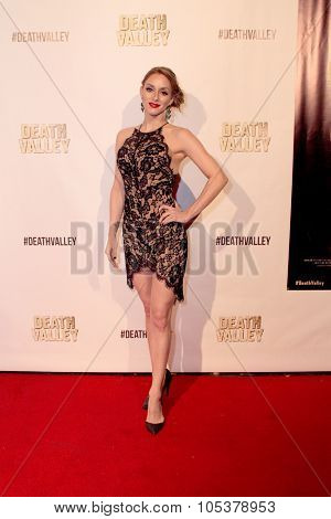 LOS ANGELES- OCT 17: Rachele Royale arrives at the
