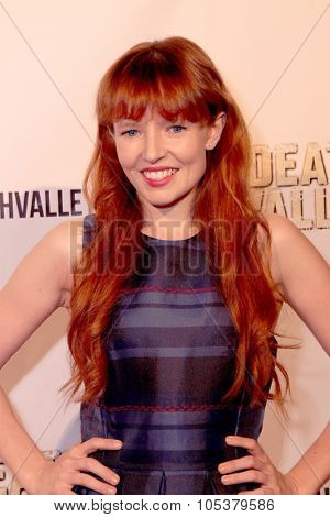 LOS ANGELES- OCT 17: Steff Dawson arrives at the