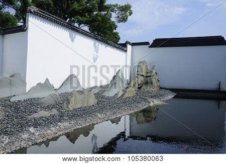 Suzhou Museum Courtyard