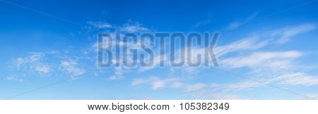 Cloud With Blue Sky