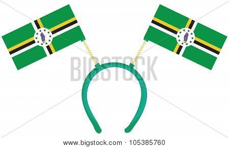 Witty Headdress Flags Dominica