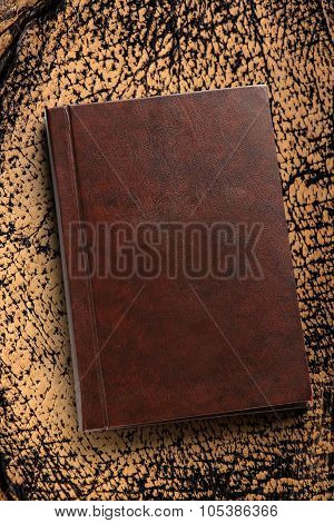 Brown Closed Book