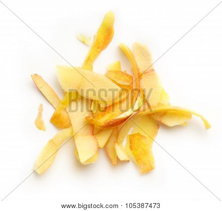 Yellow Apple Peelings