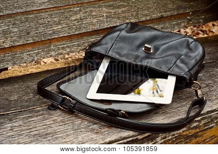 Women's Bag With Tablet Computer