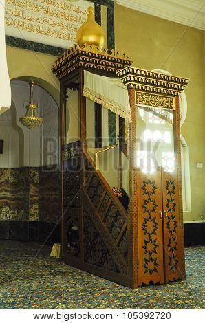 Ubudiah Mosque at Kuala Kangsar, Perak, Malaysia