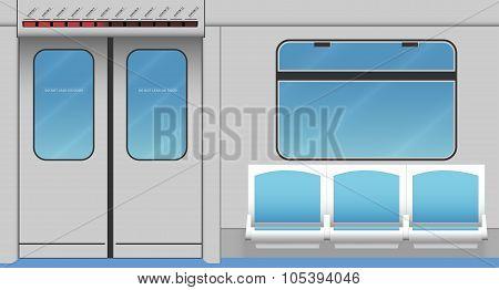 Metro Train Interior
