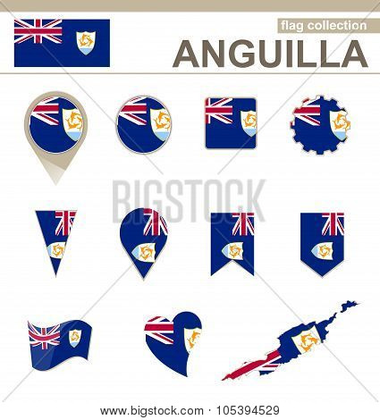 Anguilla Flag Collection