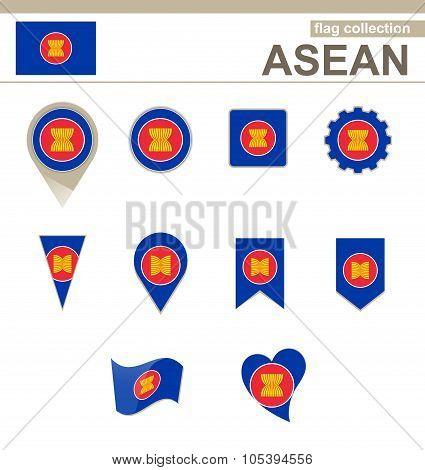 Asean Flag Collection